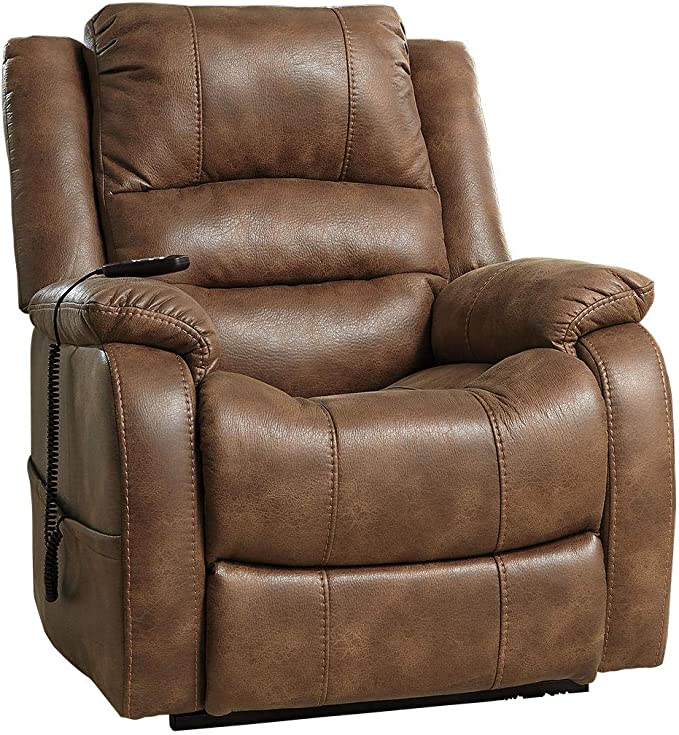 Signature Design by Ashley - Yandel Contemporary Upholstered Power Lift Recliner