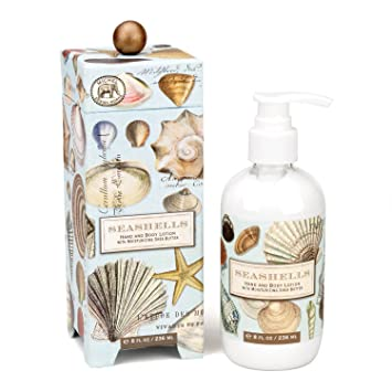 Michel Design Works Moisturizing Hand and Body Lotion with Shea Butter,  Seashells