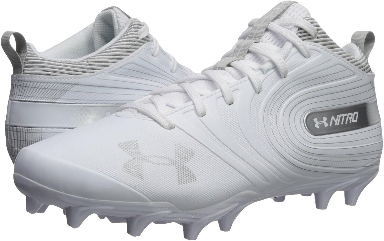 Under Armour Mens Nitro Mid Mc Football Shoe