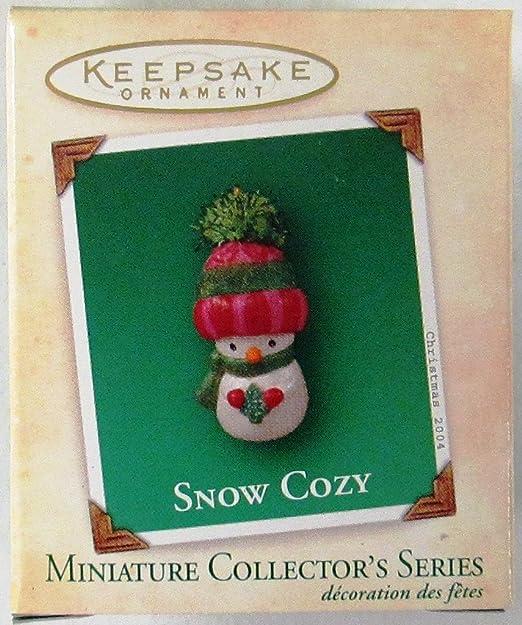 "Hallmark /""Cozy Kayak/"" Miniature Ornament 1992"
