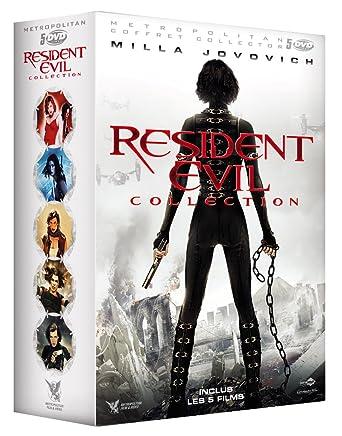 Amazon Com Resident Evil Collection Coffret 5 Films Movies Tv