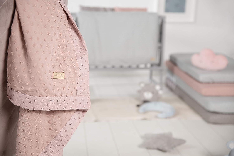 color rosa y morado Manta para beb/é Baumann Roba 306111G226 Lil Planet 180 g