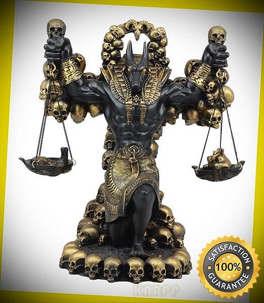 KARPP - Figura Decorativa Grande de Dios de los Ancianos Egipcios ...