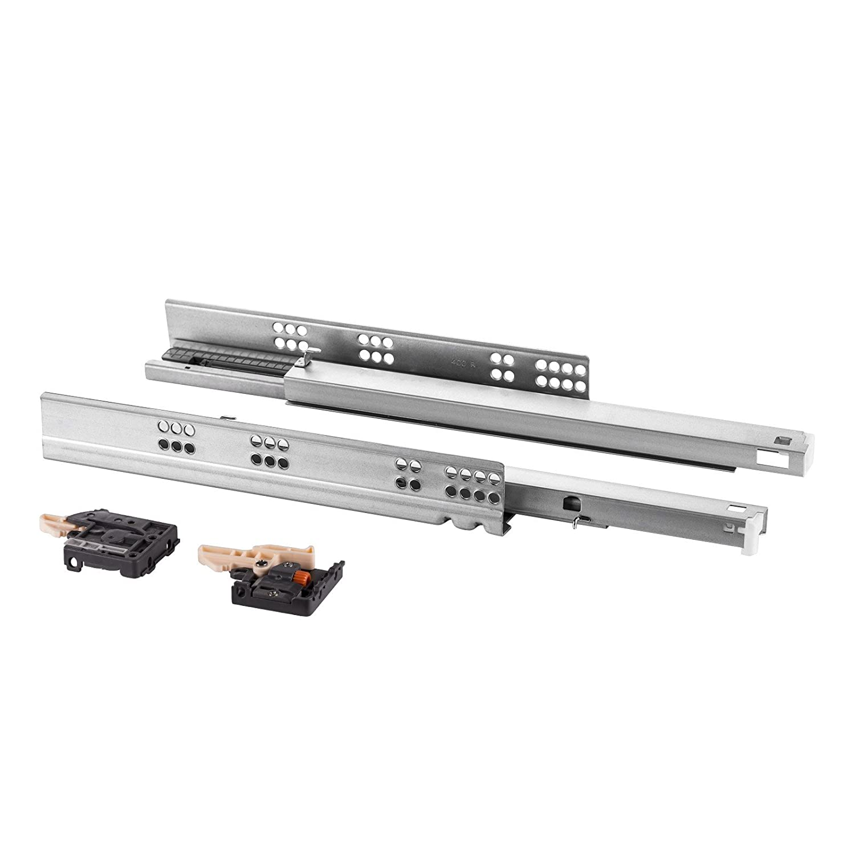 1 Paar SO-TECH® FullSlide Vollauszüge Schubladenauszüge 500 mm für Holzschublade SOTECH