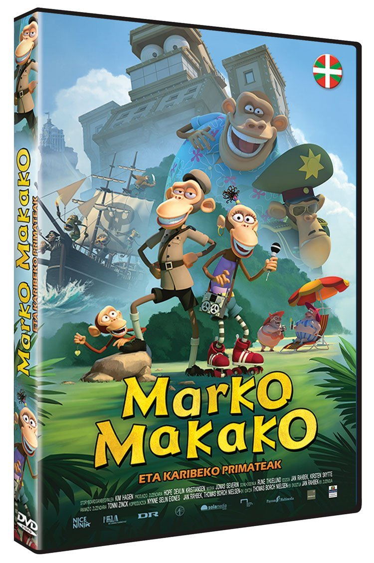 Amazon.com: Marko Makako eta Karibeko Primateak: Movies & TV