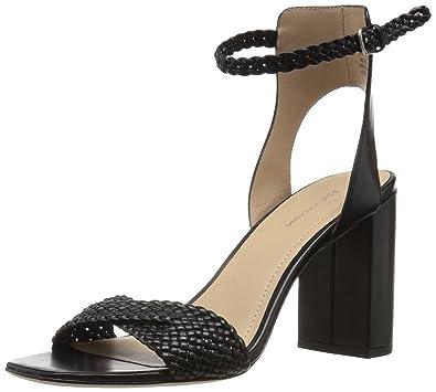 Pour La Victoire Womens Hazel Open Toe Casual Ankle Strap Black 001 Size 95