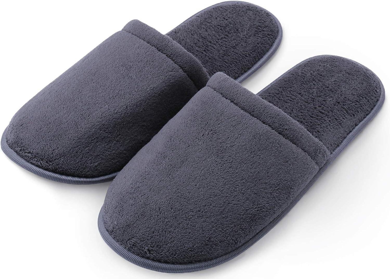 Pembrook Men's Slippers with Memory Foam - Soft Polar Fleece - House  Slippers for Adults, Men, Boys: Amazon.ca: Shoes & Handbags
