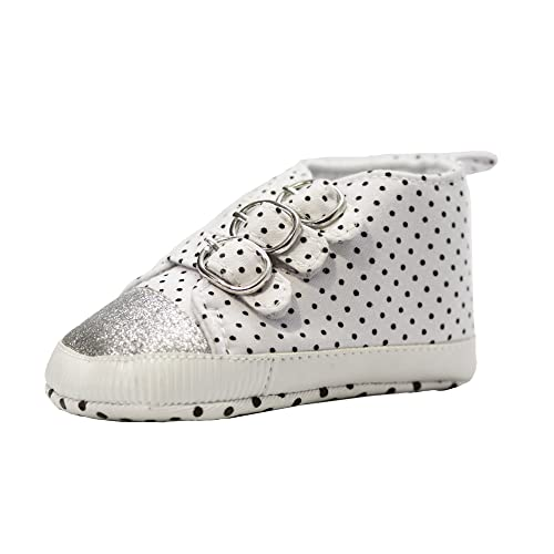 Abdc Kids Unisex Babies White First Walking Shoes