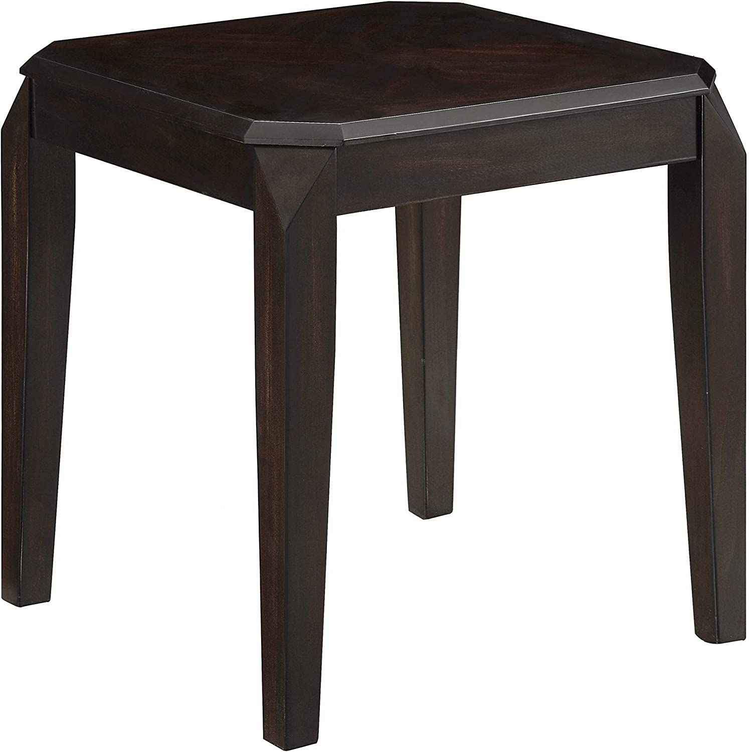 Coaster Home Furnishings Square End Table, Walnut