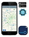 musegear® App Schlüsselfinder (dunkelblau), NEUE VERSION 2 | 3x lauter | Keys, Handy, Fernbedienung, Portmonee bequem wieder-finden & tracken statt Suchen | Smartphone Bluetooth-GPS-Kopplung
