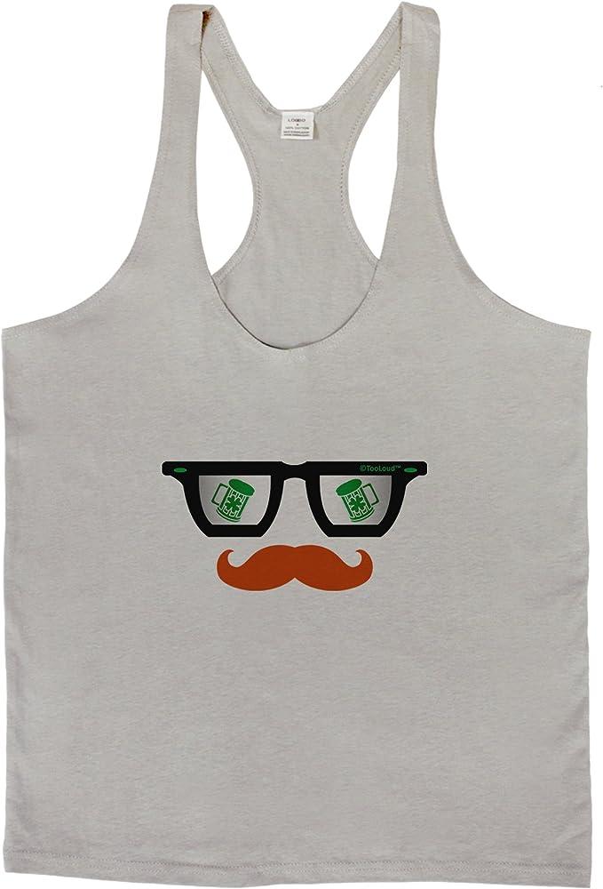 LOBBO TooLoud St Patricks Day Beer Glasses Design Mens String Tank Top