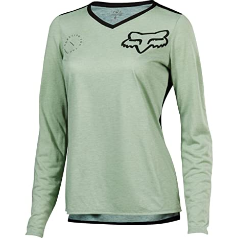 ce2f8d790 Image Unavailable. Image not available for. Color  Fox Racing Indicator Long -Sleeve Jersey - Women s ...
