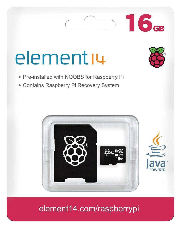 Raspberry Pi 3 Official Desktop Starter Kit 16GB, Black