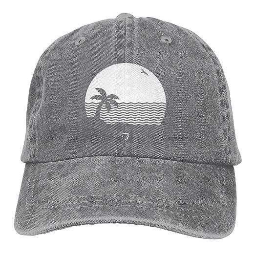 369391b3c7b4ce Buecoutes The Neighbourhood Cowboy Hat Vintage Chic Denim Baseball Caps  Trucker Hats at Amazon Men's Clothing store: