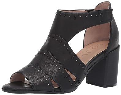 a185725905d Amazon.com  Natural Soul Women s Christina Heeled Sandal  Shoes
