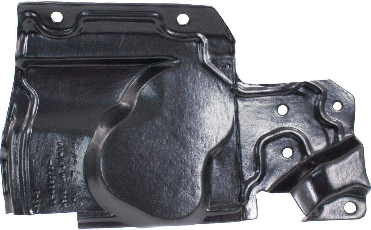Engine Splash Shield Set of 2 Compatible with NISSAN Rogue 2008-2012 Under Cover Right Side and Left Side To 2005-2012