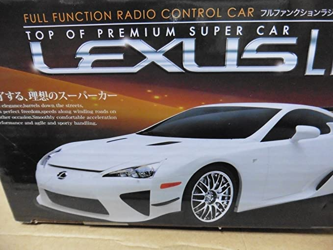 Amazon.com: 1:24 Lexus LFA Black Super Sport Electric Remote Control RC Car  Ready To Run RTR Working Headlights Japan Import JDM: Toys U0026 Games