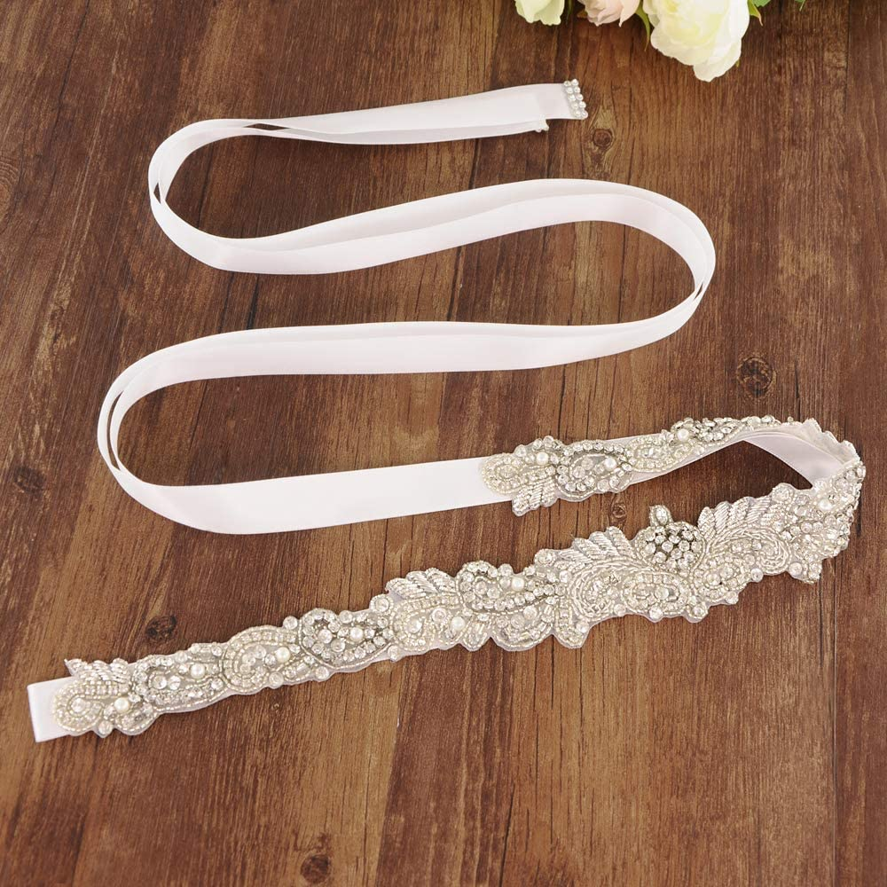 Azaleas Womens Classic Colorful Ribbon Sash for Daily Dress Formal and Wedding Dress