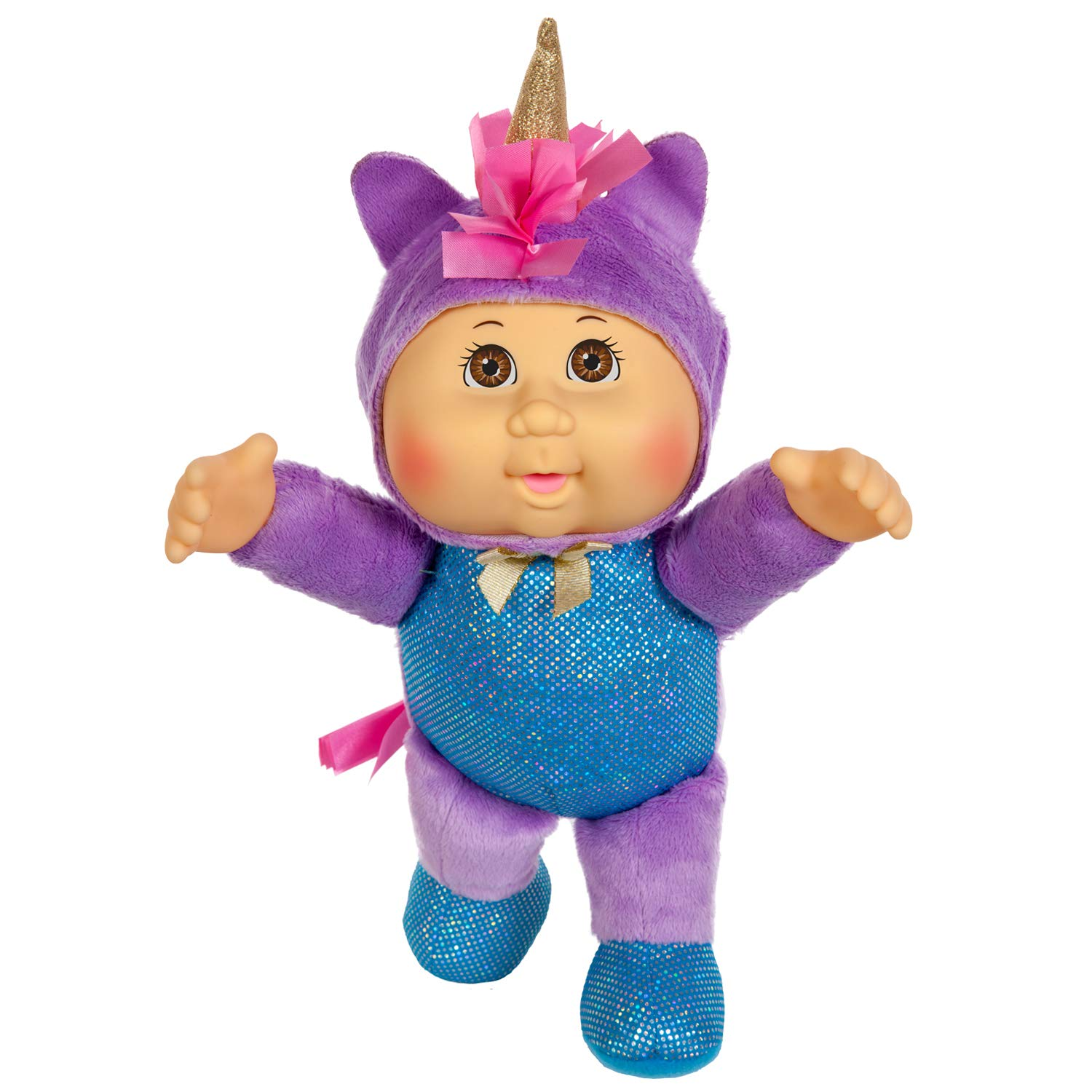 "Opal Unicorn 9/"" Fantasy Friends Collection Cabbage Patch Kids Cuties Doll"