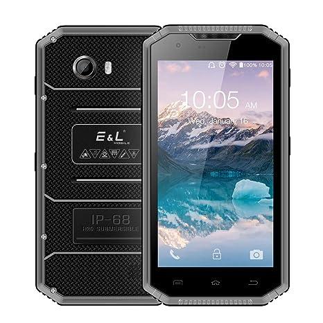 Smartphone Resistentes, EL W7 IP68 Impermeable Móvil Antigolpes ...