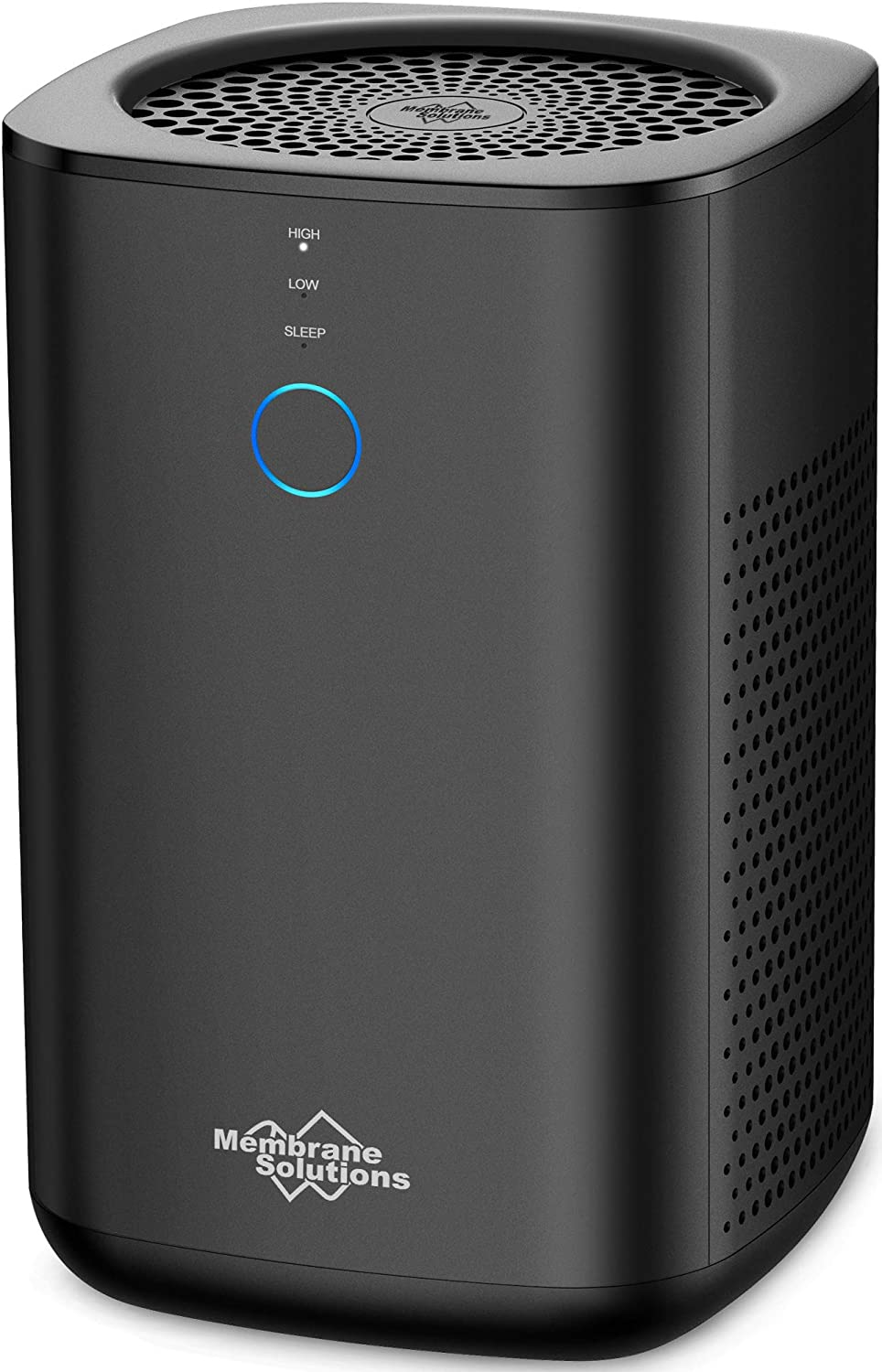Membrane Solutions Air Purifier for Home with H13 True HEAP Filter, Eliminate Allergies,Smoke,Pollen,Dust,Pollutants,Pets Dander and Odors, 24dB Ultra Quiet Air Cleaner in Bedroom with Touch Screen 2J8