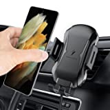 Upgraded Wireless Car Charger, Air Vent Car Phone Holder Auto Clamping Car Phone Mount, 10W/7.5W Qi Fast Charging for iPhone