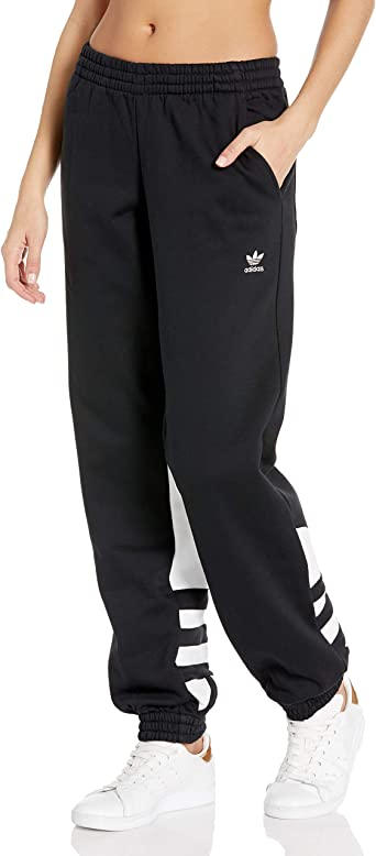 adidas Originals Womens Large Logo Sweat Pants: Amazon.es: Ropa y ...