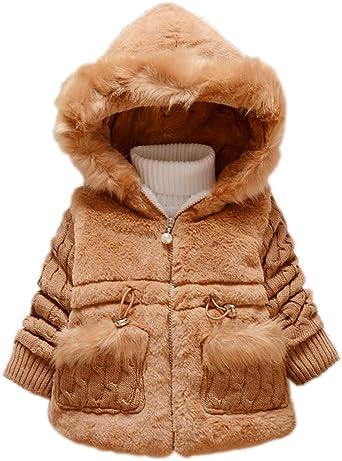 DaDa Deal Fashion Baby Girl Winter Warm Coat Jacket Warm Clothes Outerwear