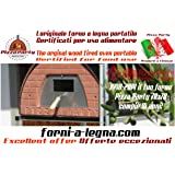 Forno a legna per pizza Pizza Party 70x70 Bronzo