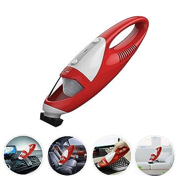 Mini Car Vacuum >> Fine Dragon Cordless Hand Vac Portable Auto Handheld Mini Car Vacuum Cleaner Red