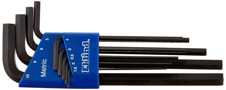Eklind 18308 1//8 Bright-Ball-Hex-L Key, Pack of 10