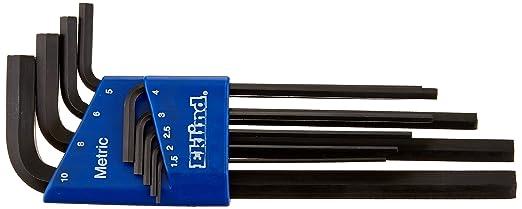 Allen 70150 Allen key set Short Metric 9tlg 1,5-10mmMade in Germany