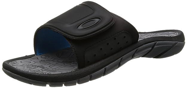 e075f417ba Oakley Supercoil Slide Mens Sandals Black Grey UK 11  Amazon.de  Schuhe    Handtaschen