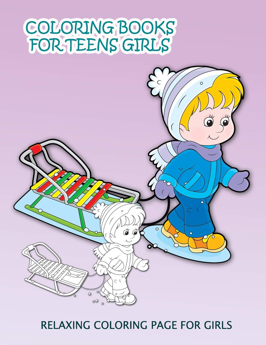Amazon.com: Coloring Books For Teens Girls: Relaxing ...
