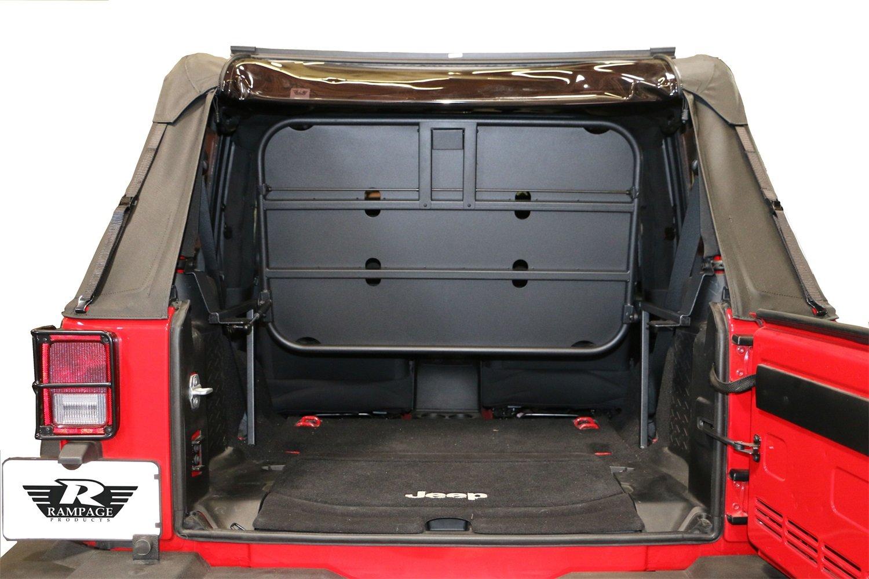 Amazon.com R&age Products 86624 Black Powder Coat Finish Rear Fold-Up Sport Rack for Jeep Wrangler JK 2-Door Automotive  sc 1 st  Amazon.com & Amazon.com: Rampage Products 86624 Black Powder Coat Finish Rear ...