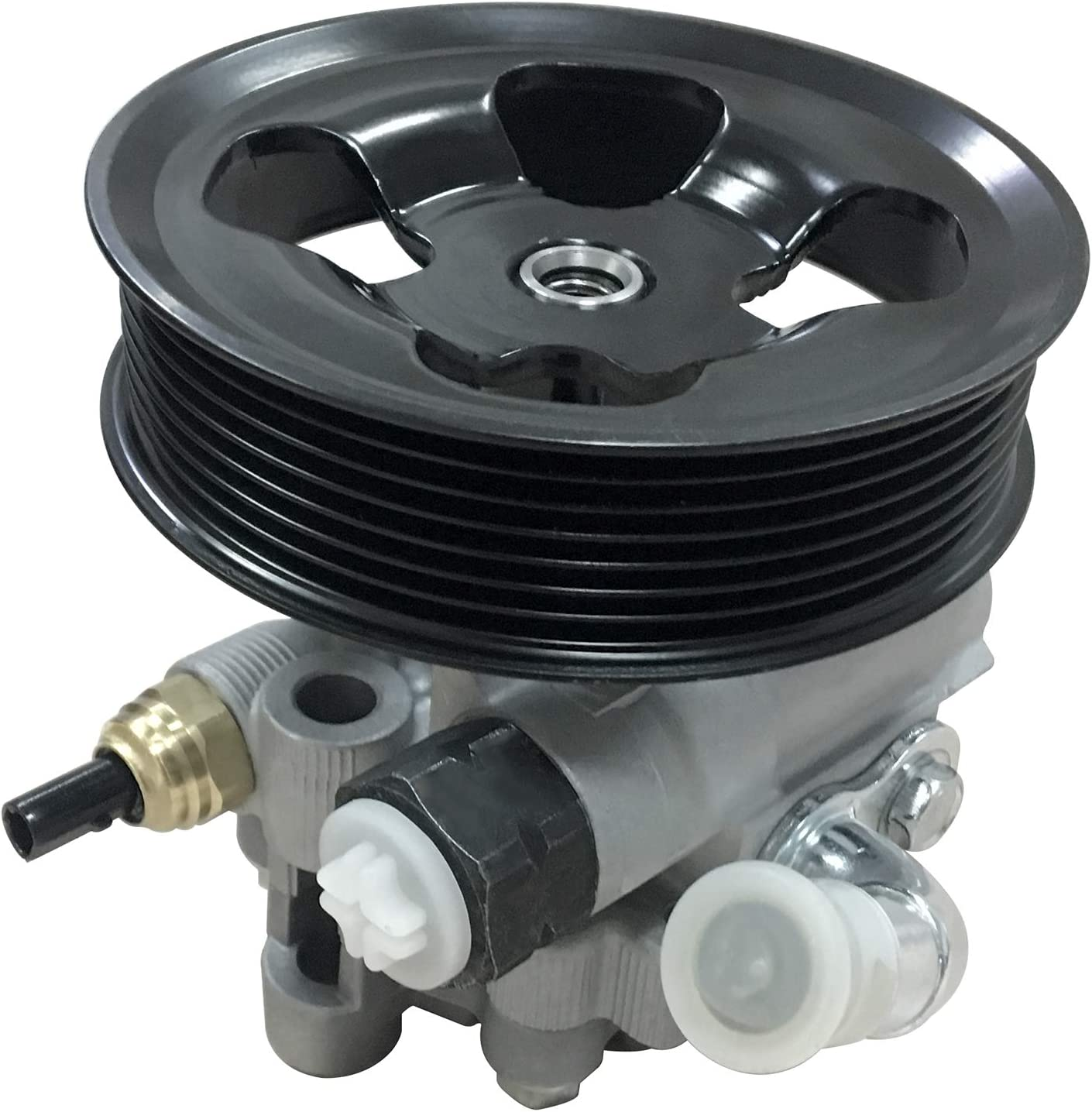 Exerock Power Steering Assist Pump Replace # 44310-06130 Compatible with 2002-2009 Camry 2.4L 2002 2003 2004 2005 2006 2007 2008 Solara 2.4L