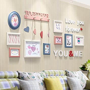Photo Frames Wall Frames Photo Wall Modern Simple Decorative Photo ...