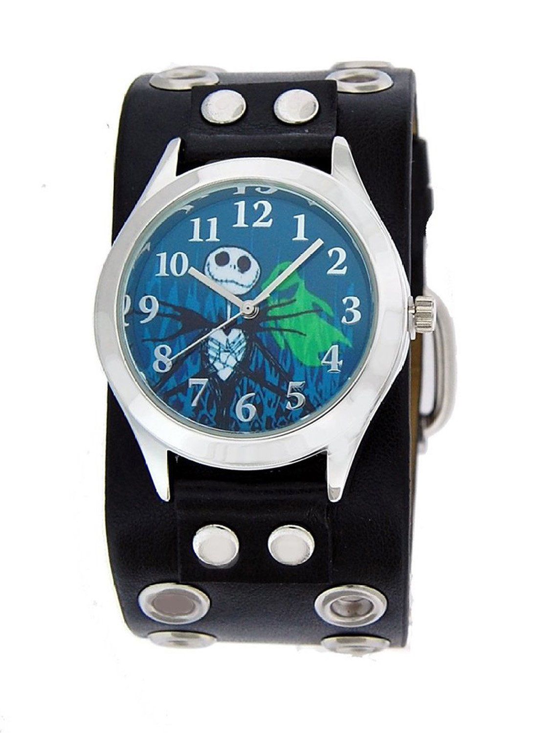 Amazon.com: Disney Nightmare Before Christmas Watch w/ Black Band ...