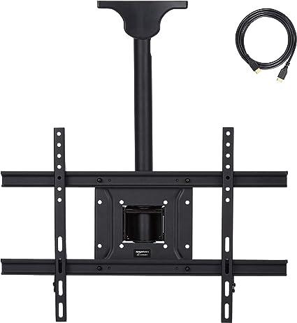 AmazonBasics – Soporte de techo para televisor, 94 x 203 cm ...