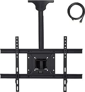 AmazonBasics – Soporte de techo para televisor, 94 x 203 cm: Amazon.es: Electrónica