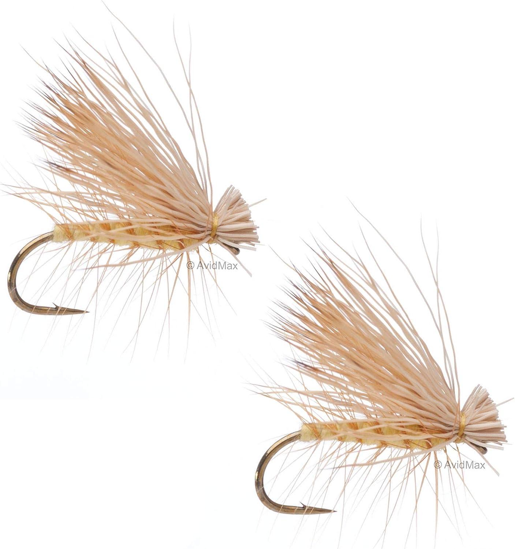 Umpqua Elk Hair Caddis Yellow Dry Flies