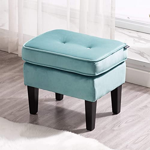Reviewed: Artechworks Modern Button Tufted Velvet Upholstery Ottoman