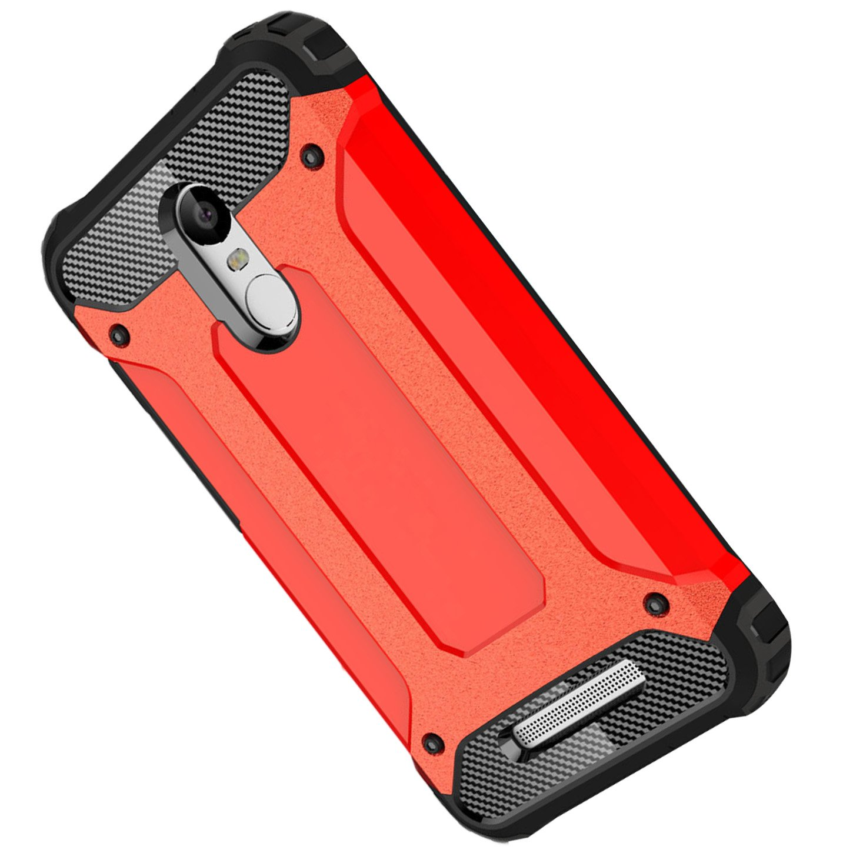 Funda Xiaomi Redmi Note 3,Armadura Rugged H/íbrida TPU+PC Back Protectora Anti-Scratch Anti-Ara/ñazos Desmontable Carcasa Funda Para Xiaomi Redmi Note 3,Rosa