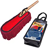 Classic Car Duster with Solid Wood Handle includes Storage Case - Popular Detailers Choice