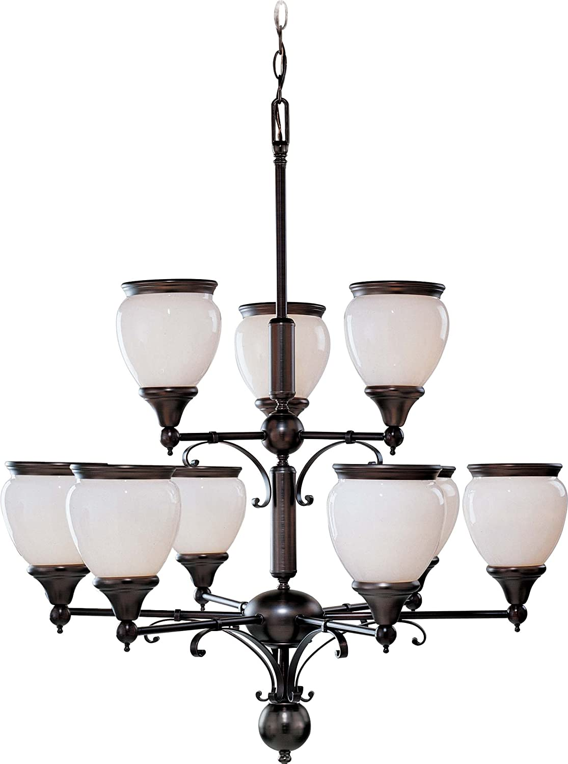 Amazon.com: volume lighting Hyde Park 9-Light Florencia ...