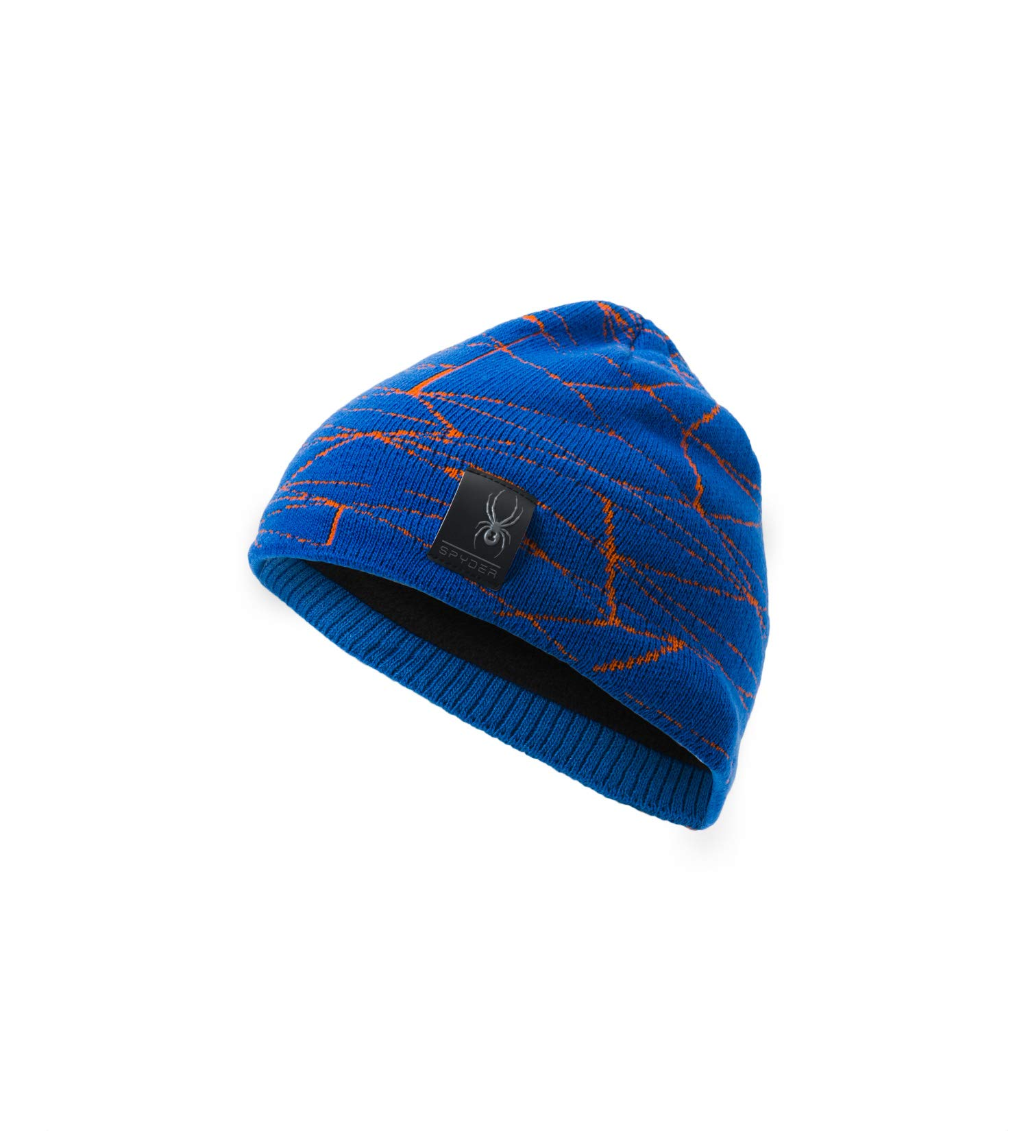 Spyder Boys' Web Hat, Turkish Sea/Exuberance/Black, One Size