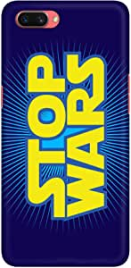 Stylizedd Oppo A3s Slim Snap Basic Case Cover Matte Finish - Stop Wars