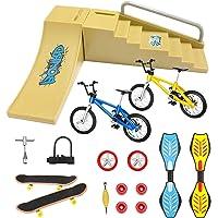 18PCS//set Mini Bike Scooter Finger Skateboard Fingerboard Educational Toys Kids