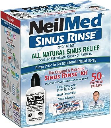NeilMed Sinus Rinse Complete Nasal Rinse Kit