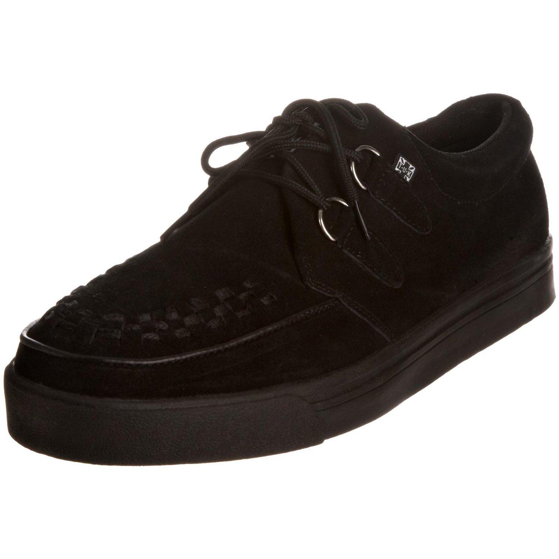 TUK A6061 schwarz Suede Frauen Männer Unisex Unisex Unisex Creepers Schuhe Stiefel Turnschuhe 12ccb9